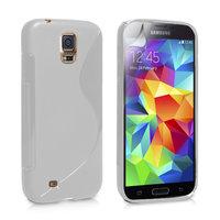 Серый силиконовый чехол S-Style для Samsung Galaxy S5 - S Style Soft Silicone Case Grey