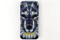 Чехол накладка для iPhone 5s / SE / 5 волк