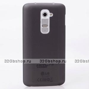 Ультратонкий черный матовый чехол для LG Optimus G2 0.3mm Ultra Thin Slim Matte Case Black