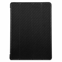 Чехол Melkco для iPad Air Leather Case Slimme Cover Carbon Fiber Pattern - Black