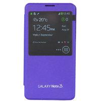Чехол-обложка S View Cover для Samsung Galaxy Note 3 N9000 фиолетовый чехол с окошком