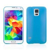 Ультратонкий чехол для Samsung Galaxy S5 mini голубой - Ultra Thin Blue Case