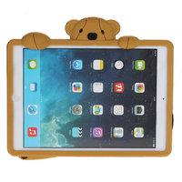Силиконовый чехол медведь для iPad Air коричневый мишка Smart Silicone Back Cover Brown Bear