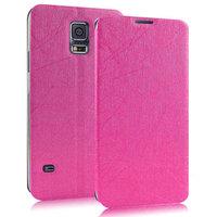 Чехол книжка Pudini Book Case Pink для Samsung Galaxy S5 розовый