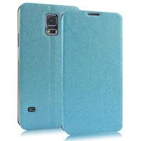 Чехол книжка Pudini Book Case Blue для Samsung Galaxy S5 голубой