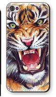 Чехол накладка для iPhone 5s / SE / 5 тигр