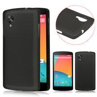 Ультратонкий чехол для Google Nexus 5 черный - 0.3 mm Ultra Thin Matte Black Case