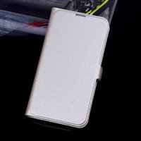 Чехол книга для Samsung Galaxy S5 золотой - Silk Grain Book Case Gold