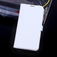 Чехол книга для Samsung Galaxy S5 белый - Silk Grain Book Case White