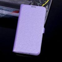 Чехол книга для Samsung Galaxy S5 фиолетовый - Silk Grain Book Case Purple