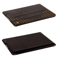 Черный чехол с медными заклепками Jisoncase для iPad 4/ 3/ 2