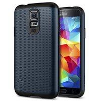 Защитный чехол накладка SLIM ARMOR Case Black для Samsung Galaxy S5 черный