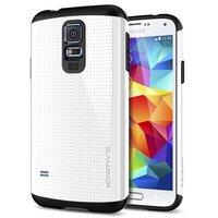 Защитный чехол накладка SLIM ARMOR Case White для Samsung Galaxy S5 белый