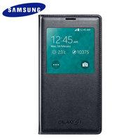 Оригинальный чехол с окошком ORIGINAL S View Cover Black EF-CG900BBEGRU для Samsung Galaxy S5 SM-G900 черный