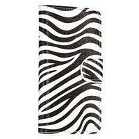Чехол кошелек c рисунком зебра для Samsung Galaxy S5 - Zebra Pattern Wallet Case