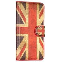 Чехол кошелек флаг Великобритании для Samsung Galaxy S5 - UK Pattern Wallet Case