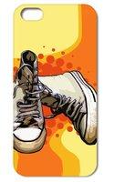 Чехол накладка для iPhone 5s / SE / 5 gumshoes Кеды