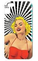 Чехол накладка для iPhone 5s / SE / 5 Blonde Retro Style