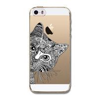Чехол накладка для iPhone 5s / SE / 5 кот