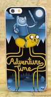 Чехол накладка для iPhone 5s / SE / 5 Adventure Time Finn And Jake