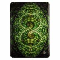 Чехол Jisoncase для iPad Air 5 зеленый узор