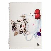 Чехол Jisoncase для iPad Air 5 котенок в чашке