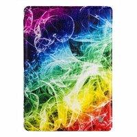 Чехол Jisoncase для iPad Air 5 штрихи цвета радуги