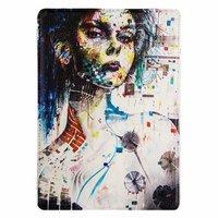 Чехол Jisoncase для iPad Air 5 портрет девушки