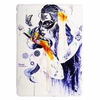 Чехол Jisoncase для iPad Air 5 - девушка в маске
