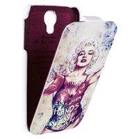 Чехол книжка Fashion для Samsung Galaxy S4 Мэрилин Монро Marilyn Monroe