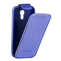 Чехол Kooso для Samsung Galaxy S4 mini i9190/ i9192 Duos - Kooso Flip case Dark Blue