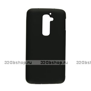 Силиконовый чехол для LG G2 mini D618 черный матовый