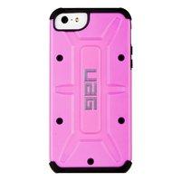 Защитный чехол накладка UAG для iPhone 5s / SE / 5 розовая