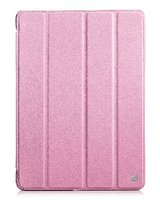 Чехол книжка для iPad Air 5 розовый - HOCO Duke Leather case Pink