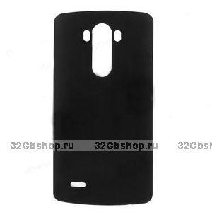 Пластиковый чехол для LG Optimus G3 S / mini черный - Matte Plastic Case Black
