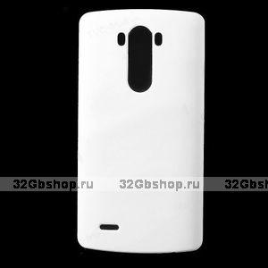 Пластиковый чехол для LG Optimus G3 S / mini белый - Matte Plastic Case White