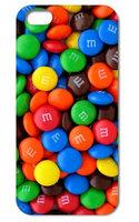 Чехол накладка для iPhone 5 / 5s / SE M&M's Chocolate Candies style Конфеты