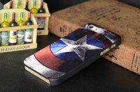 Чехол накладка для iPhone 5s / SE / 5 Капитан Америка