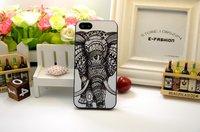 Чехол накладка для iPhone 5s / SE / 5 Слон