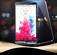 Чехол накладка для LG G3 прозрачный пластик