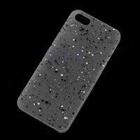 Чехол накладка для iPhone 5s / SE / 5 прозрачный матовый пластик, светится в темноте