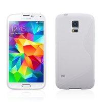 Силиконовый чехол для Samsung Galaxy S5 mini белый - S Style TPU Case White