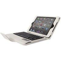Чехол клавиатура для iPad Air c русскими буквами Bluetooth Case White