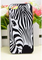 Чехол накладка для iPhone 5s / SE / 5 пластик Зебра