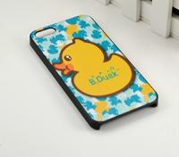 Чехол накладка для iPhone 5s / SE / 5 пластик Уточка