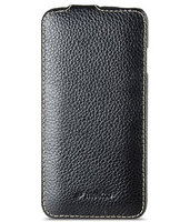 "Черный кожаный чехол для iPhone 6 Plus / 6s Plus (5.5"") - Melkco Jacka Type Leather Case Black"