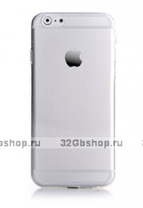 """Прозрачный пластиковый чехол для iPhone 6 / iPhone 6s (4.7"""")"""