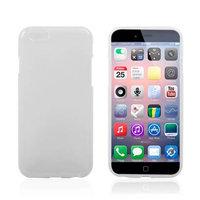 Тонкий силиконовый чехол для iPhone 6 / 6s белый - Thin TPU Silicone Case White