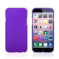 Тонкий силиконовый чехол для iPhone 6 / 6s фиолетовый - Thin TPU Silicone Case Purple