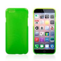Тонкий силиконовый чехол для iPhone 6 / 6s зеленый - Thin TPU Silicone Case Green